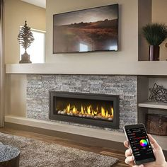 Napoleon LV50N Vector 50 Direct Vent Gas Fireplace | WoodlandDirect.com: Indoor Fireplaces: Gas #LearnShopEnjoy