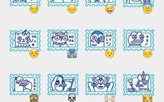 Stamps Stickers Set | Telegram Stickers