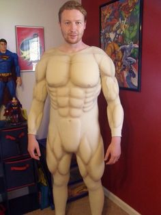 Resultado de imagen para how to make muscle suit of foam