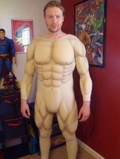 Resultado de imagen para how to make muscle suit of foam Superhero Cosplay, Batman Cosplay, Cosplay Armor, Cosplay Diy, Halloween Cosplay, Halloween Costumes, Halloween 2015, Costume Tutorial, Cosplay Tutorial
