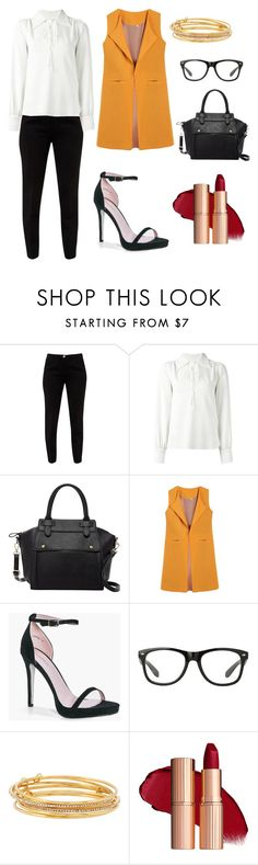 """""""Outfit Inspiration Jessica Fashion Notes"""" by nicollehart on Polyvore featuring moda, Ted Baker, See by Chloé, Pink Haley, Boohoo y Kate Spade"""