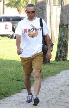 【画像】イチローがキャンプの時に着る謎Tシャツwwwwwwwwwwwwwww