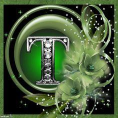 allez floral green frames letter k alphabet letters monogram letters letter wall