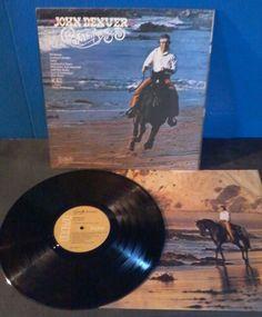 """John Denver RECORD ALBUM 1975 Vinyl LP RCA Stereo 12"""" 1970s Windsong Calypso #1970s"""