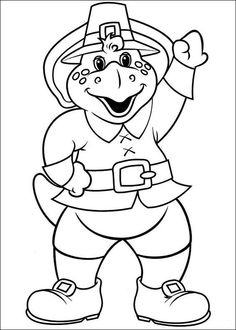 Barney and Friends coloring picture | Barney party | Pinterest ...