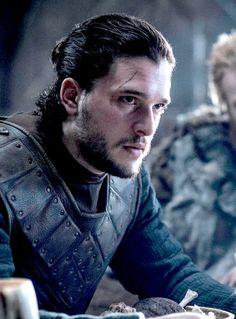 Jon Snow - Game of Thrones Season 6 Episode 4 Kit Harington, Winter Is Here, Winter Is Coming, Jon Snow Book, Jon Schnee, Game Of Thrones Instagram, Man Bun Hairstyles, John Snow, The North Remembers