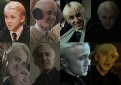"Draco Malfoy (Tom Felton) Here's How The ""Harry Potter"" Actors Looked Like In Each Film Tom Felton Harry Potter, Draco Harry Potter, Harry Potter Actors, Harry Potter Merchandise, Harry Potter Universal, Harry Potter Memes, Harry Potter World, Potter Facts, Draco Malfoy"