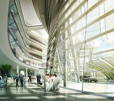 Qatar Civil Aviation Authority Headquarters – Projects – Grimshaw Architects