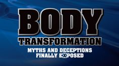 """This book will do for you what no other training or exercise book will do. It will show you the """"Laws of Nature"""" as related to training programs and exercise equipment, so that you will never again be ripped off, conned, cheated or deceived by scams relating to body transformation!"""