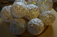 Dollar Tree DIY - Twine Ornaments