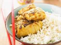 Découvrez la recette Cabillaud au curry sur cuisineactuelle.fr.