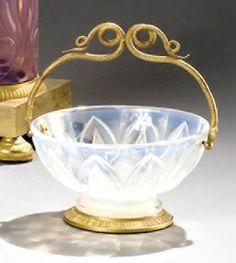 Charles X, Serpent, Opaline, Decorative Bowls, Champagne, Bronze, Art, Lining Up, Bubbles