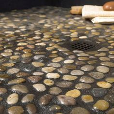 Great Solistone Anatolia Rumi 12 In X 12 In X Natural Stone Pebble Meshmounted  Mosaic Tile Sq At The Home Depot Will Go Great As The Floor With The Water  Fall