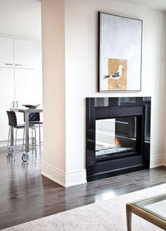 Avenue Road Condo - contemporary - living room - toronto - Palmerston Design Consultants