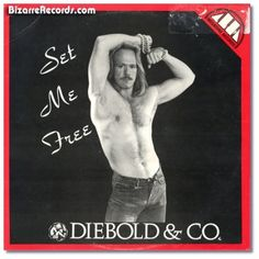 "Most Hilariously Failed Attempts at Sexy Album Covers.  Diebold & Co. - Set Me Free.  Take a look at this. A long look. Keep looking... ""What? What am I supposed to be seeing here? All I see is OH MY GOD WHAT IS WRONG WITH HIS FOREHEAD!?"""