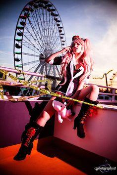 Cosplayer: Kitakichan Character: Enoshima Junko From: Dangan Ronpa Photographer: Cornelia Gillmann - Photography Location: Austria