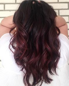 21 Best Brown Hair Color Ideas 2017: Cherry Brown Hair Color