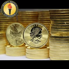 Canadian Gold Maple Leaf Coins for Sale · Money Metals® Canadian Maple Leaf, Canadian Coins, Gold Coin Price, Maple Leaf Gold, Apothecary Cabinet, Mo Money, Crypto Coin, Gold Stock, Coins For Sale