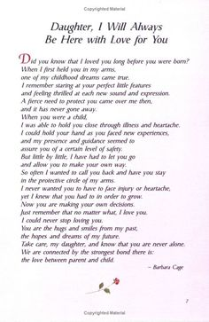The 25 best Poem for my daughter - Single Mom Quotes From Daughter - Ideas of Single Mom Quotes From Daughter - The 25 best Poem for my daughter Mom Quotes From Daughter, Letter To My Daughter, I Love My Daughter, Love My Kids, Mother Daughter Poems, Beautiful Daughter Quotes, Daughter Graduation Quotes, Daughters Birthday Quotes, A Mother