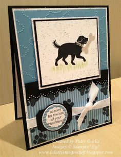 LaLatty Stamp 'N Stuff: Pet Sympathy