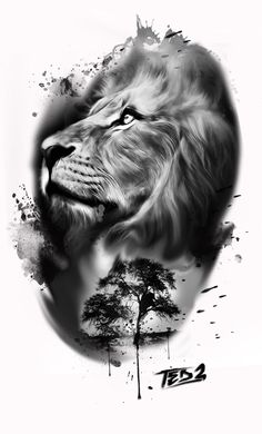 Lion tattoos hold different meanings. - Lion tattoos hold different meanings. Lions are known to be proud and courageous creatures. Lion Head Tattoos, Body Art Tattoos, Girl Tattoos, Key Tattoos, Cross Tattoos, Couple Tattoos, Finger Tattoos, Small Tattoos, Tattoo L