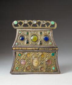 Merovingian, Getty Museum, Museum Collection, Prehistoric, Art Decor, Medieval, Decorative Boxes, Objects, Sculpture