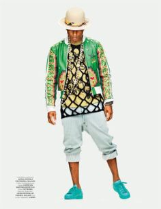 Pharell in GQ Style Germany 2015