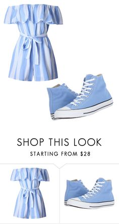 """Untitled #169"" by itsayak on Polyvore featuring WithChic and Converse"