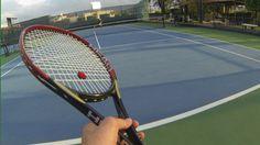 German vs David 1st Person  GoPro tennis