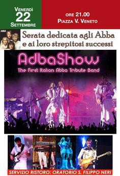 """Autunno a Gussago 2017: venerdì 22 settembre concerto """"Adba Show"""" - http://www.gussagonews.it/autunno-gussago-2017-concerto-adba-show-settembre-2017/"""