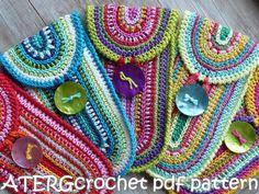 Crochet pattern CASE by ATERGcrochet di ATERGcrochet su Etsy
