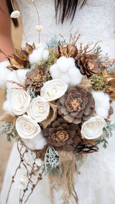 Outdoor wedding bouquet!