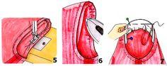 Различают три основные формы рукавов: 1. Втачной рукавс одним или двумя швами. Рукава обоих видов могут втачиваться с совершенно гладким, припосаженным или слегка присборенным окатом. В зависимости от высоты оката рукава втачиваются в пройму до или после стачивания боковых срезов изделия. 2. Рукав регланможет состоятьиз одной детали и тогда часто выполняется с плечевой вытачкой — [...]
