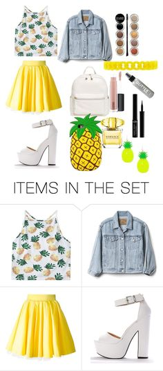 """#ананасик"" by tapok ❤ liked on Polyvore featuring art"