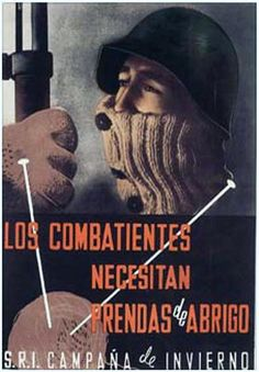 Republic propaganda poster | Spanish civil war 1936/39