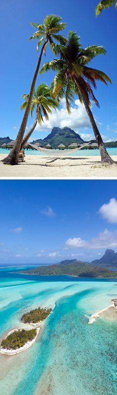 Bora Bora, French Polynesia | Top 10 most beautiful islands in the world!