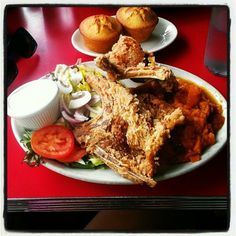 Fried Pork Chops - Hard Knox Cafe - Zmenu, The Most Comprehensive Menu With Photos