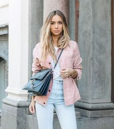 Who doesn't love classic blue denim? But this season bring your look bang up to date with a fresh twist on the everyday look – pink denim is the cool girl swap for effortless spring style, and oversized jackets, distressed boyfriends and frayed-hem midis are all getting the treatment.