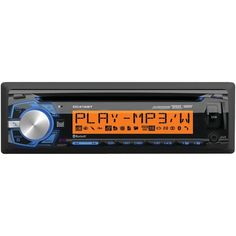 Dual Electronics DC416BT Single-DIN In-Dash CD AM/FM Receiver with Bluetooth