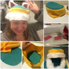 How to sew an Everest hat.
