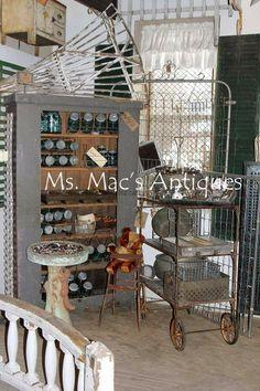 Antique Vintage Shop February Sale at Ms. Mac's Antiques our Carver location. #msmacsantiques
