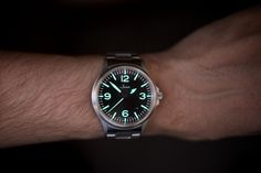 Post with 0 votes and 819 views. [Sinn Haven't taken this one off my wrist for weeks. Field Watches, Sport Watches, Cool Watches, Watches For Men, Men's Watches, Sinn Watch, Vintage Rolex, Automatic Watch, Seiko