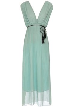 Mint for bridesmaids- with a different belt