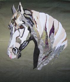 mosaic Horse by Marie Sarafinski