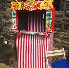 Punch and Judy - Vintage themed wedding - Seaside wedding - Carnival