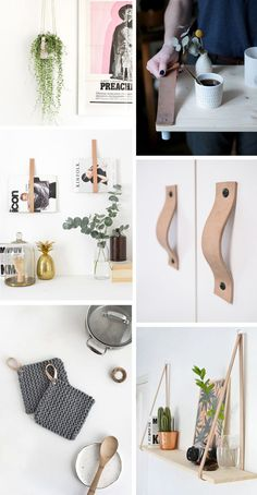 diy interior How to use DIY Scandinavian style leather straps in your home decor Diy Interior, Scandinavian Interior, Home Interior Design, Leather Interior, Scandinavian Style Home, Cafe Interior, Diy Leather Belt, Diy Home Decor For Apartments, Interior Design Software