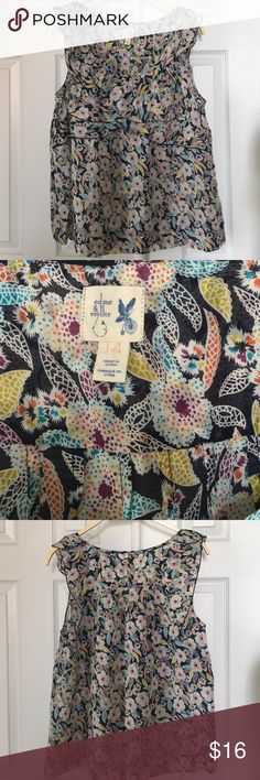 Anthropologie Top Printed Anthropologie top by edme & estyllte. Light weight, perfect for summer. Looks great under a jacket or on its own. Like new Anthropologie Tops Blouses