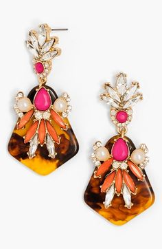 Free shipping and returns on BaubleBar 'Isabella' Drop Earrings at Nordstrom.com. Exquisite crystals and a duo of milky faux pearls adorn a pair of contemporary drop earrings.