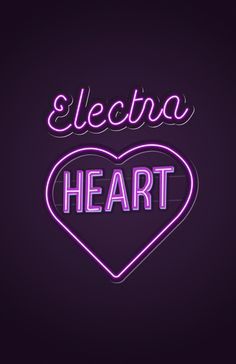 Electra Heart - Marina and the Diamonds Art Print by Nicholas Musi