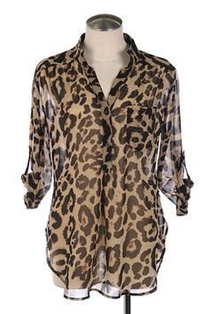 #leopard #tunic #shirt #blouse #cheetah